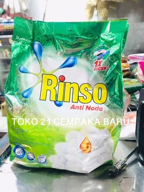 ... Rinso Deterjen 1 8kg Rinso Anti Noda Detergent Bubuk Refill 1 8 kg