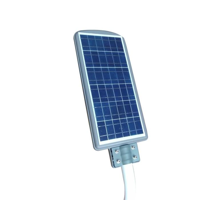 harga Lampu jalan pju solarcell panel tenaga surya 60w led + tiang breket Tokopedia.com