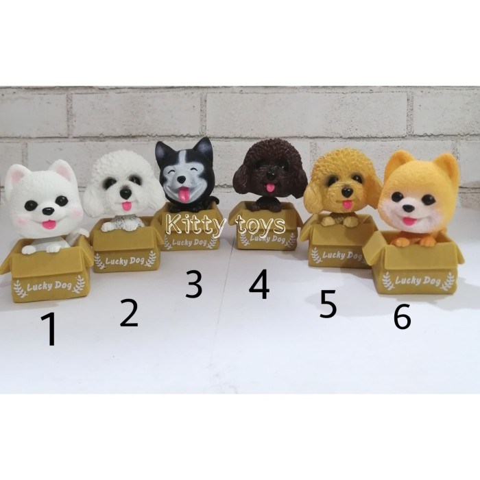 harga Pajangan hiasan mobil dashboard unik boneka goyang anjing dog Tokopedia.com