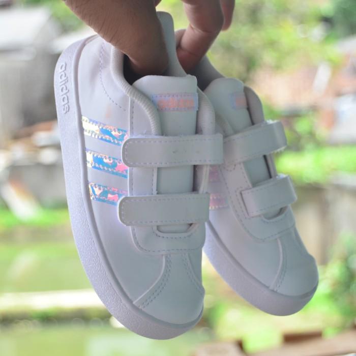 Jual Adidas Vl Court Hologram Sepatu Adidas Anak Original Kab