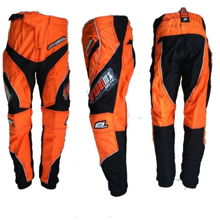 harga Grosir celana trail cross adventure motocross panjang orange oneal Tokopedia.com