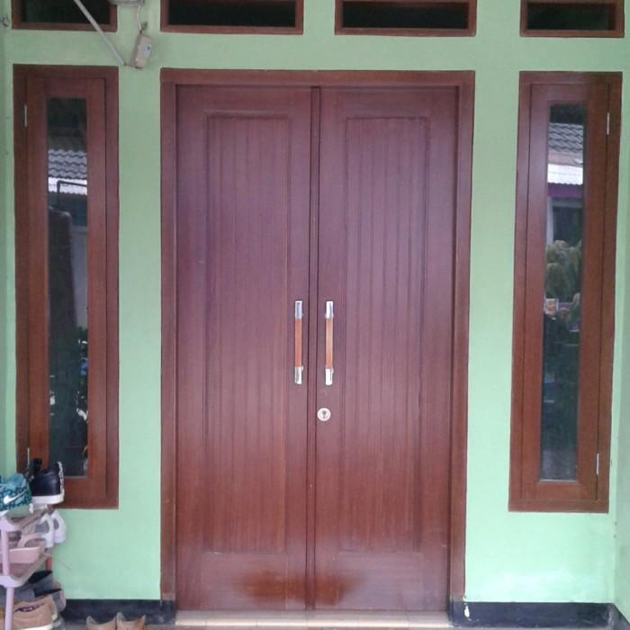Model Gorden Pintu Kupu Tarung  jual kusen pintu kupu tarung meranti oven kota tangerang selatan kusen pintu kayu tokopedia