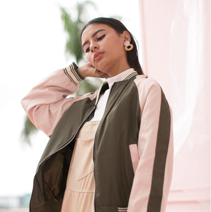 harga Someday clothing - jaket wanita peak green jacket Tokopedia.com