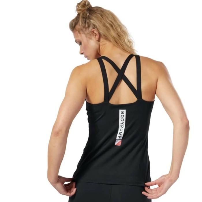 Reebok Lesmills LM Body Pump Woman Baju Olahraga Wanita Gym Fitness 4dea5ba761
