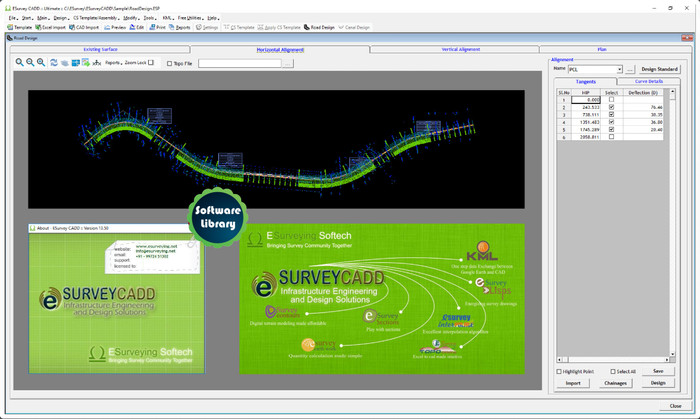 Jual ESurvey CADD - Civil Survey Engineers (Latest Version) - Jakarta Timur  - Software Library | Tokopedia