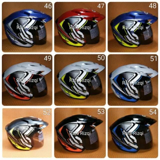 Helm Motor Takira SNI Dewasa Premium Murah All