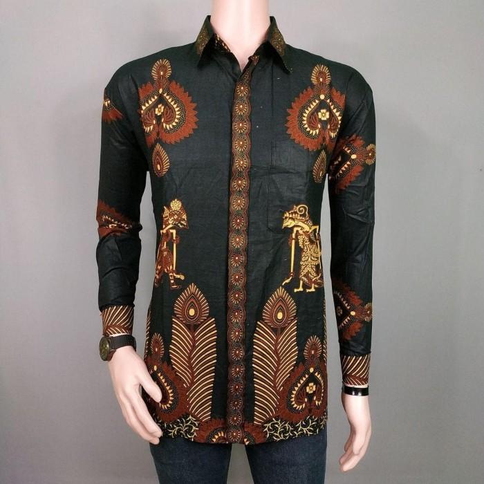Kemeja Batik Pria Lengan Panjang Eksklusif Batik Kemeja Kerja BKL5