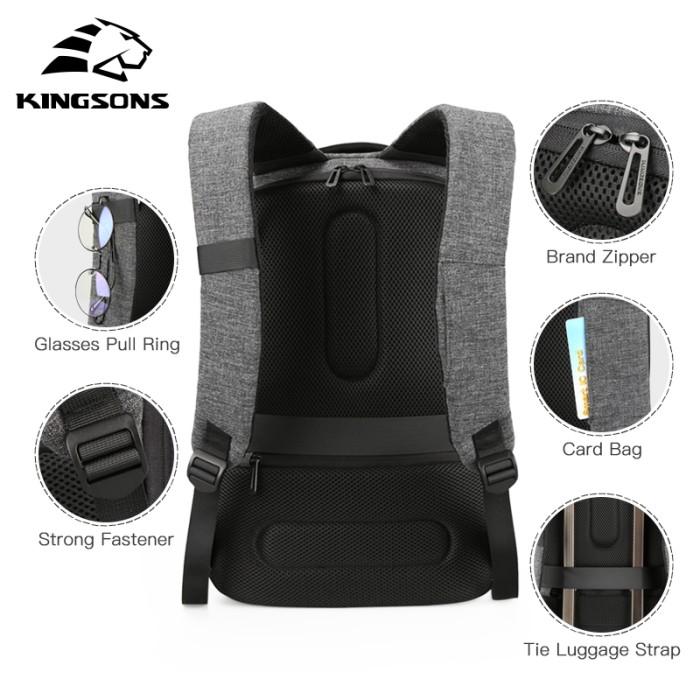 23301630167d Jual Kingsons Men Backpack Shoulder Bags in Men s Casual Daypacks ...