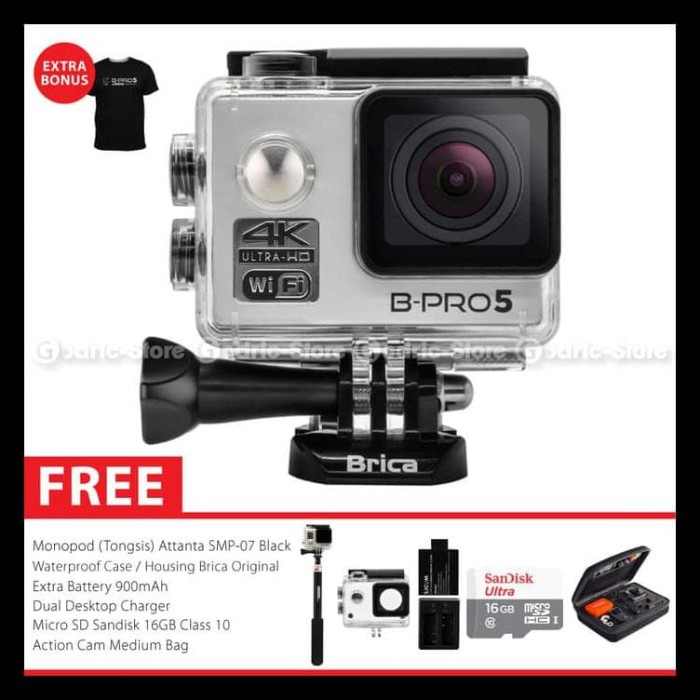 Sale Brica B-Pro 5 Alpha Edition Version 2 (Ae2) 4K Camera Combo