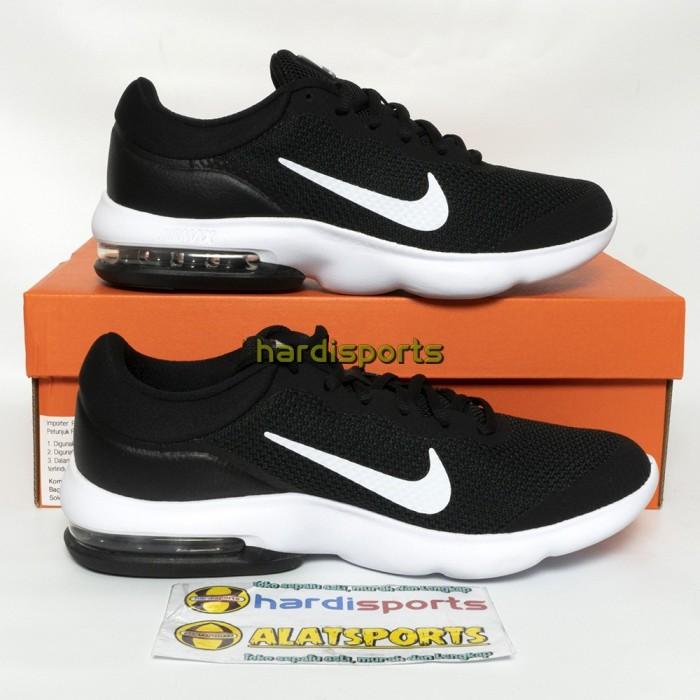 Jual Sepatu Running Pria Nike Air Max Advantage 908981-001 - Black ... e2b7c5f015
