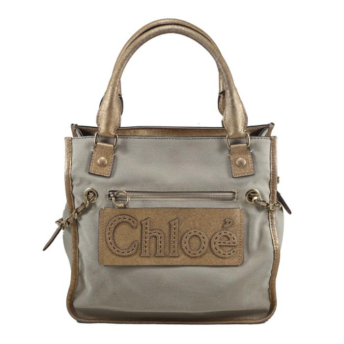 Foto Produk Chloe Tote Bag in Canvas I7156 dari SECOND CHANCE