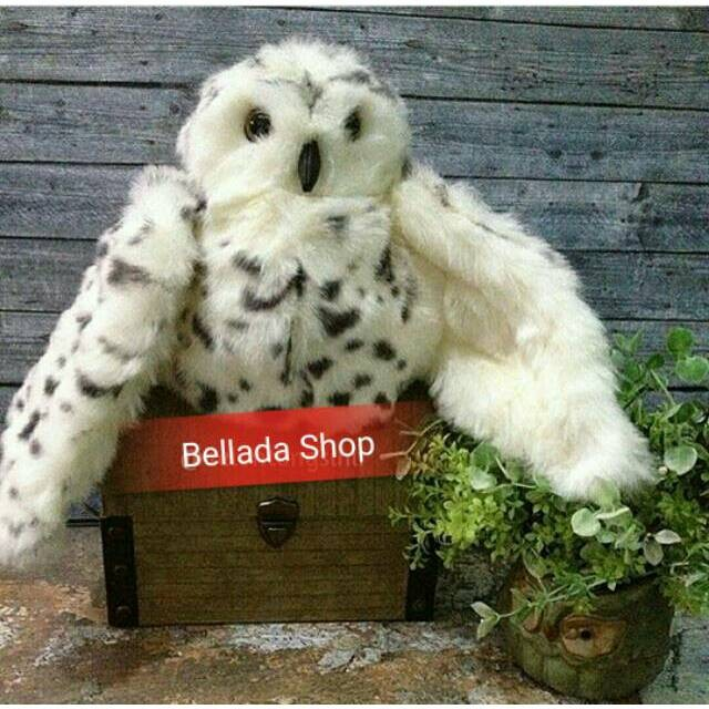 Jual Boneka Burung Hantu Salju Snowy Owl Jakarta Pusat Fast Shopnow Tokopedia