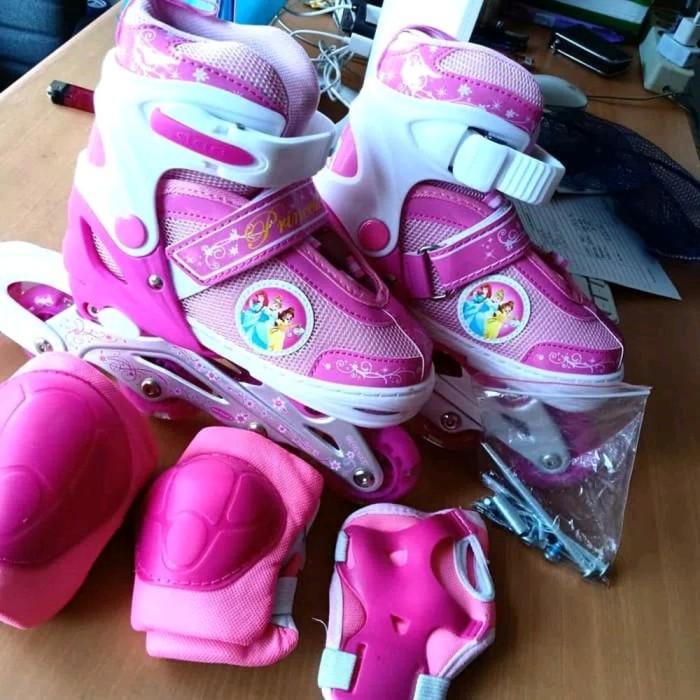 Jual Murah Sepatu Roda Anak Power Inline Skate Bonus Dekker Fullset ... 0fee62d4e1