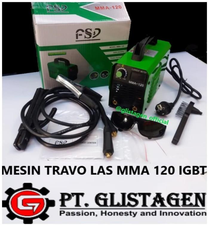harga Travo las / mesin las inverter listrik fsd mma 120 igbt fushengdou Tokopedia.com