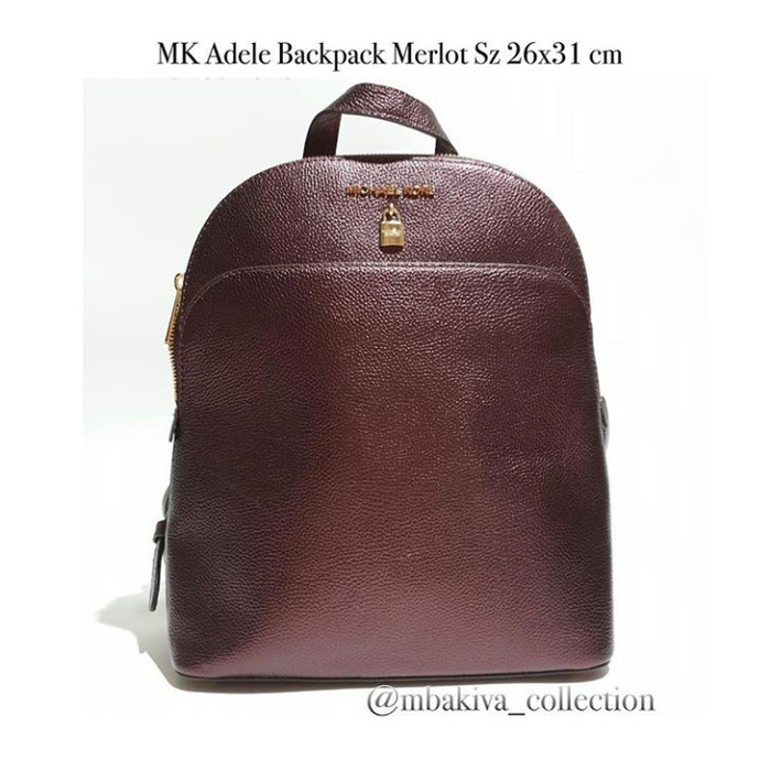 d180eca5189c Jual MK Adele Backpack Merlot - Kab. Sidoarjo - Fossil_lovers ...