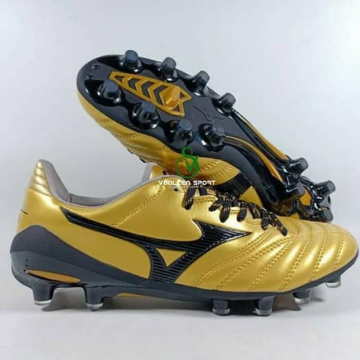 the latest e037f 5af20 Jual Mizuno Morelia Neo II Gold Blck FG Import - Kota Batam - voolcensport  | Tokopedia