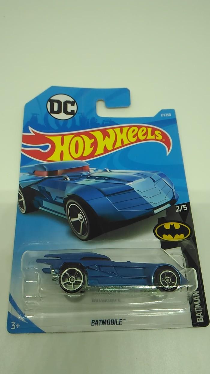 Jual Hot Wheels Batmobile Animation Blue Kota Surabaya Toko Dedak