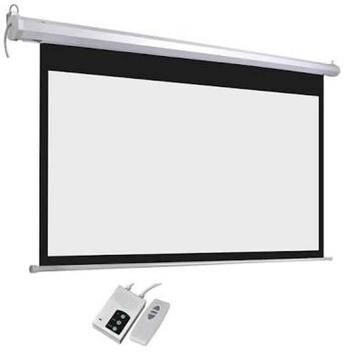 harga Layar proyektor / screen projector motorize 150  4:3 (305cm x 229cm ) Tokopedia.com