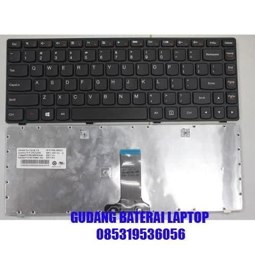 Jual Keyboard Laptop Lenovo G400s G405s S410p Kota Surabaya Gudang Baterai Laptop Tokopedia