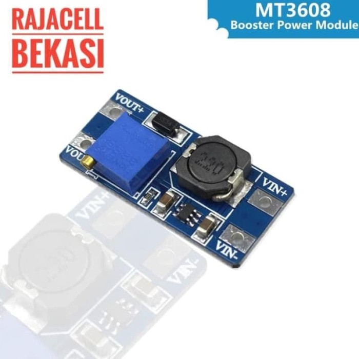 2PCS MT3608 DC-DC Step Up Power Apply Module Booster Power MAX output 28V 2A
