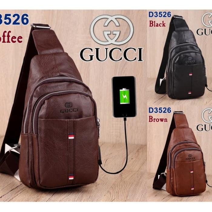 44cd8304026d Jual Minits-T752 Gucci Chest Bag - - Kota Batam - minits collection ...