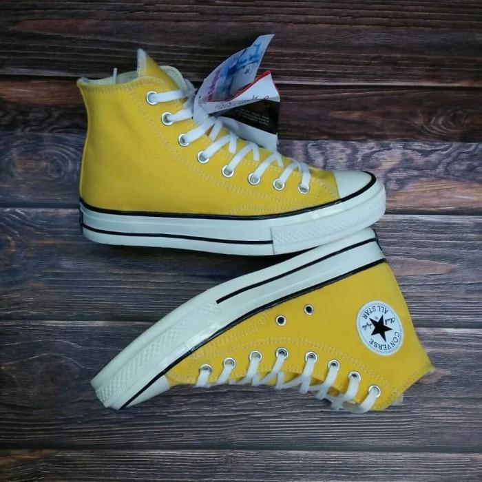 Jual Sepatu Converse All Star Classic High Kuning Kuning 43