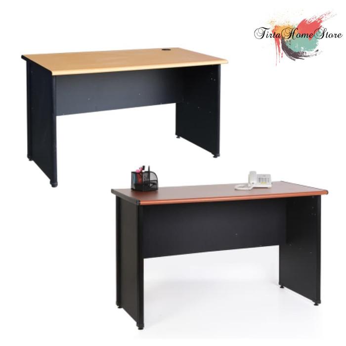 harga Lunar furniture - meja kerja 1/2 biro lmk 1260 Tokopedia.com