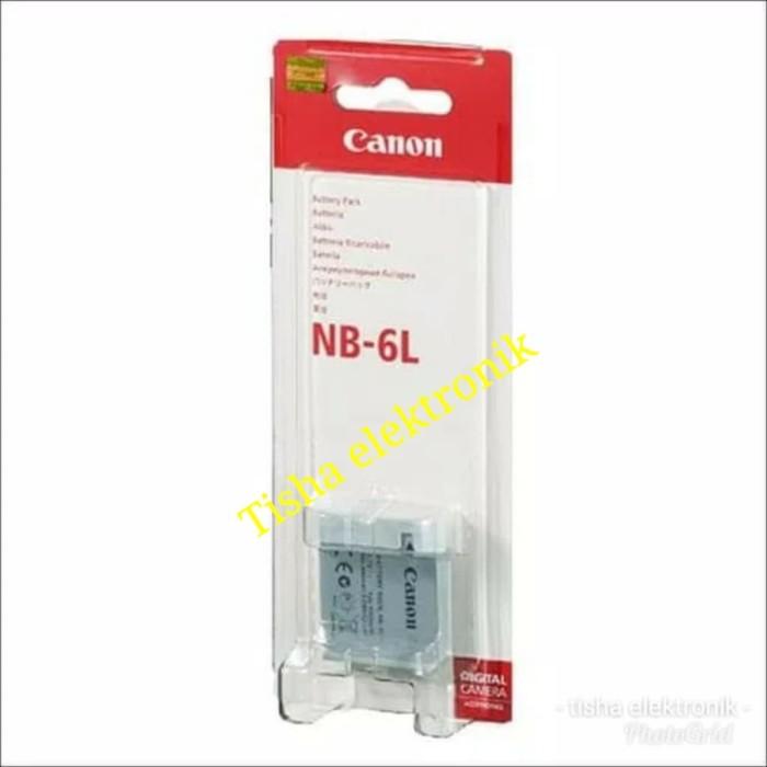 harga Baterai/batre kamera canon nb-6l Tokopedia.com