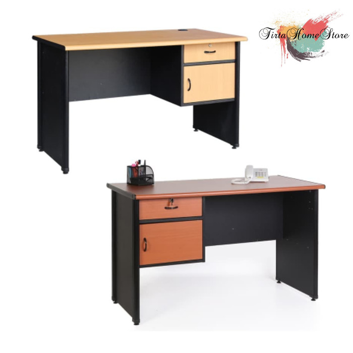 harga Meja kerja 1/2 biro lmk 1260 l Tokopedia.com
