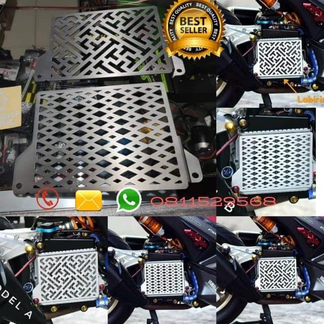 harga Cover radiator nmax aerox lexi aksesoris motor yamaha Tokopedia.com
