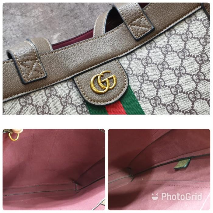 cc26d4ce2b6 Jual Gucci Ophidia Soft GG Supreme Large Tote Bag   Tas Wanita ...