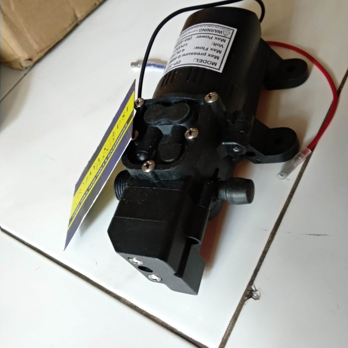 Jual Pompa Air Elektrik High Pressure 12V Mini DC Pump DC ...