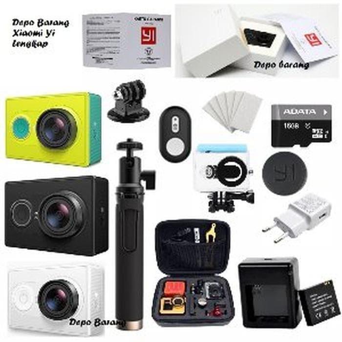 Jual Spesial Complete Lengkap Xiomi Kamera Gopro Xiaomi Yi Basic Fre Best Store Novitaa Tokopedia