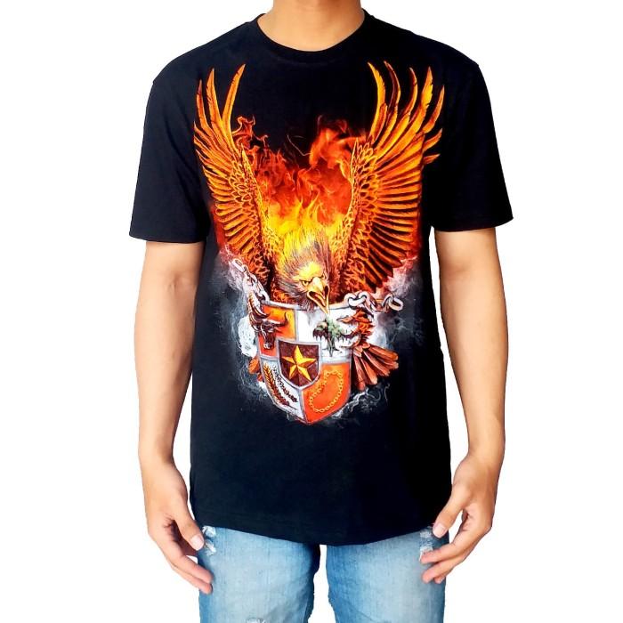 Jual Kaos Kicau Kaos Burung Garuda Garuda Hitam Bawara Kaos