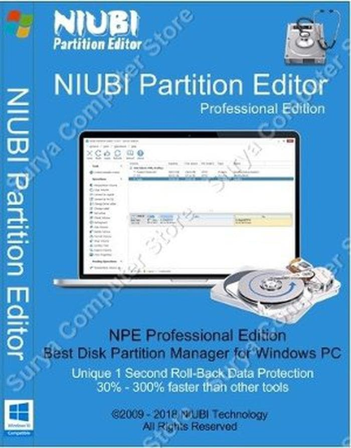 niubi partition editor licence key