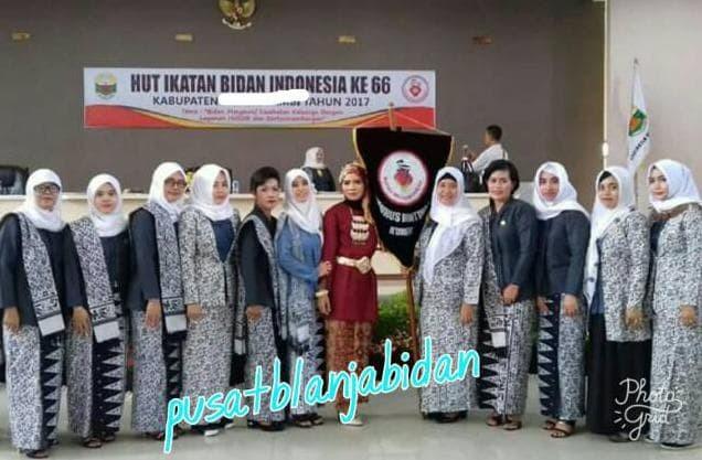 Jual Sale Kain Batik Bahan Seragam Ibi Lapangan Free Pin Ibi Dki Jakarta Zueniilmawan Tokopedia