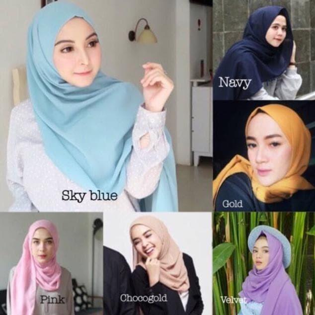 Jual Murah Promo Pasmina Double Hycon Jilbab Bella Pashmina Bella Hijab Jakarta Barat Maryatitul Tokopedia
