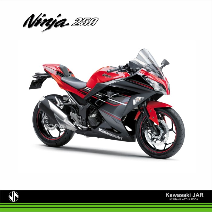 harga Kawasaki ninja 250 abs ltd - red Tokopedia.com