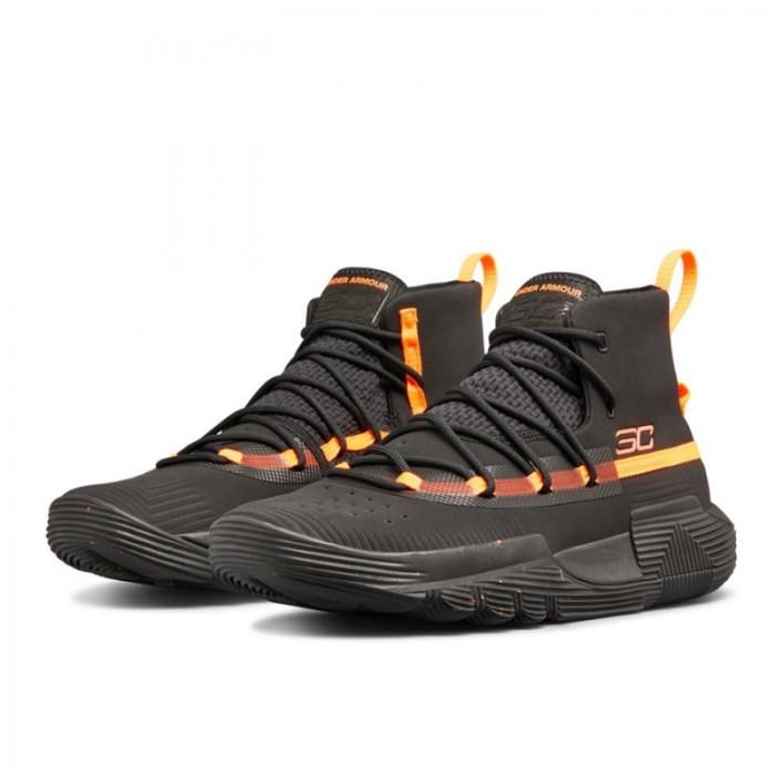 Jual Sepatu Basket UNDER ARMOUR SC 3ZER0 II Black Orange ... 3f08b750c5