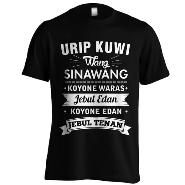 Jual Kaos Urip Kuwi Wang Sinawang Kaos Kata Kata Lucu Kaos Kata Bijak Jawa Hitam Xs Kota Semarang Wf Cloth Tokopedia
