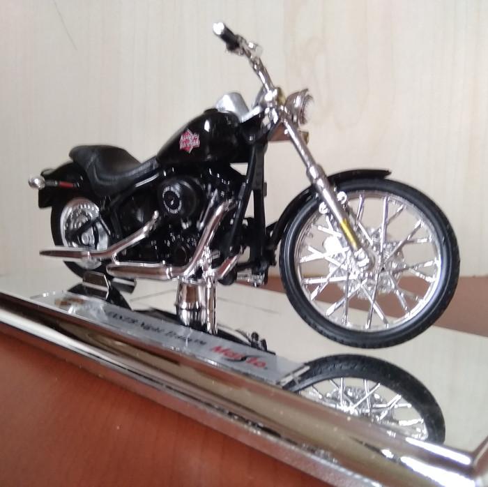 Harley Night Train >> Jual Harley Davidson Fxstb Night Train Motorcycle 1 18 New Diecast Kota Medan Autobahn Diecast Tokopedia