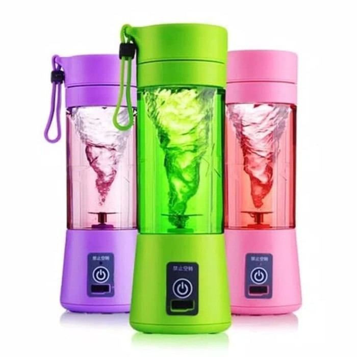 Shake n Go Portable Juicer Blender Rechargeable - Alat Jus Buah Mini