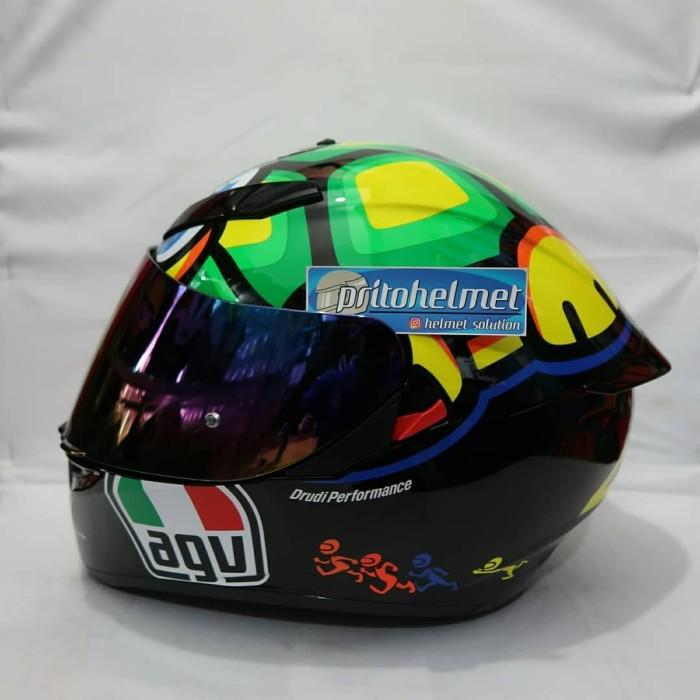 Jual Visor Iridium Blue Agv K3 Sv Agv K1 Kab Sleman Yogyakarta Helmet Tokopedia