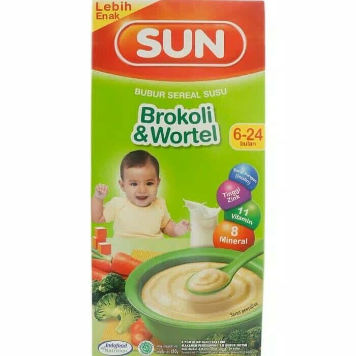 Jual Sun Bubur Bayi Brokoli Amp Wortel 6 24 Bulan Kota Bekasi