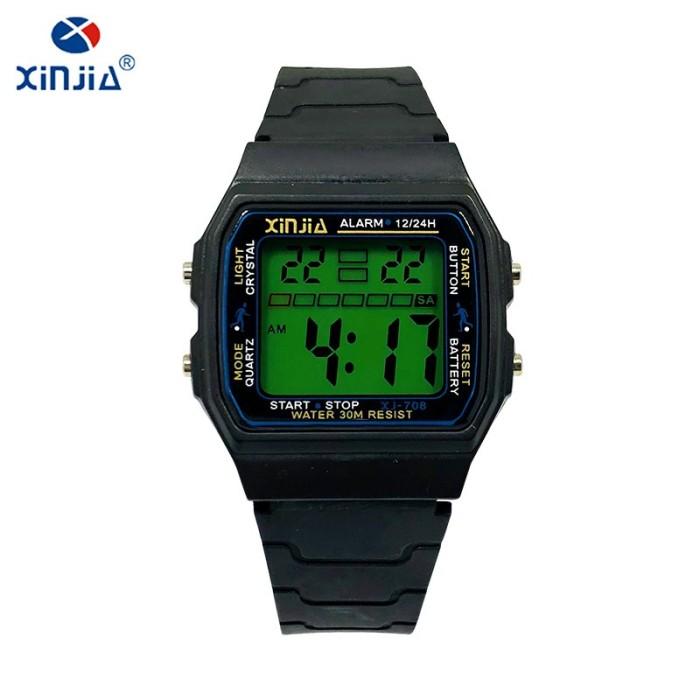 Digital Jam Tangan Olahraga Hitam - Spesifikasi Harga Produk Terhit ... 31f2e5503d