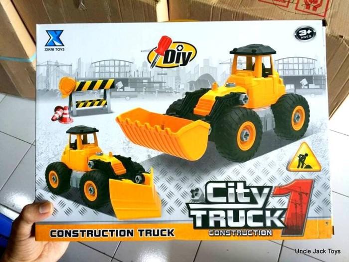 Jual Mainan Anak Lego City Construction Truck Xk16 Bricks Toys