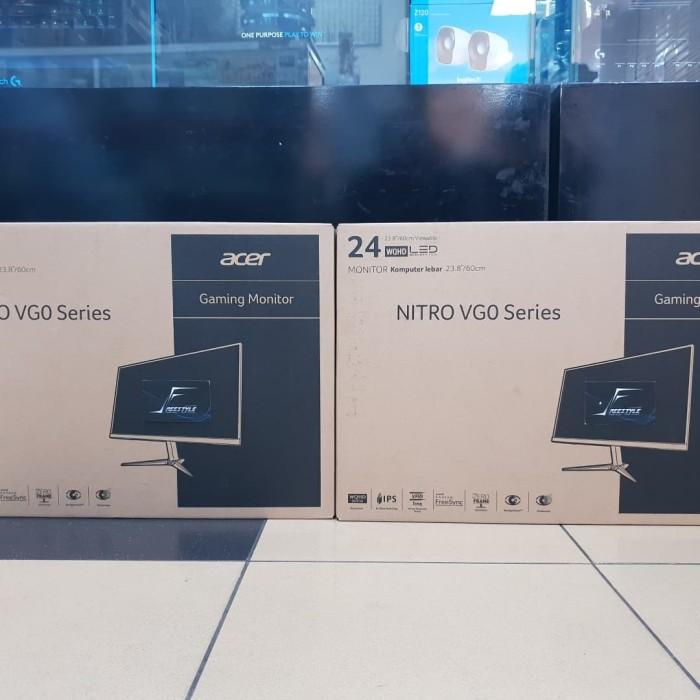 harga Acer nitro vg240yu freesync ips 24  2k 75hz garansi resmi acer indo Tokopedia.com