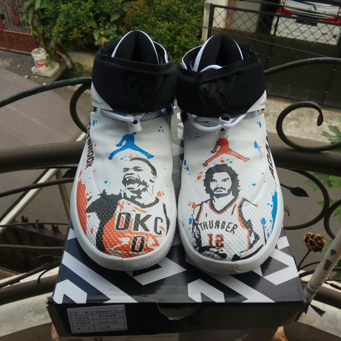 2b3043190bb Nike Air Jordan Why Not Zero 1 WestBrook Adams High Premium Original