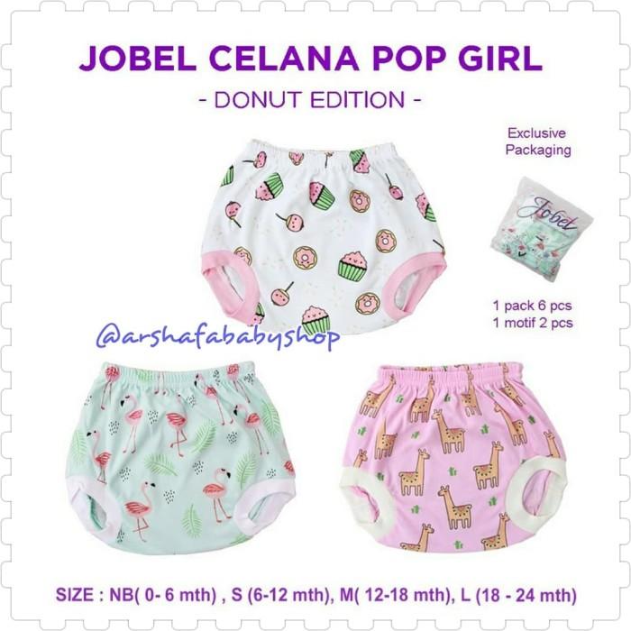 Jobel by Kazel Celana Pop Girl DONUT Edition NB - L (0 - 24 Bulan