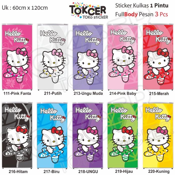 Jual Variasi Stiker Kulkas 1 Pintu Hello Kitty No 219 Hijau Jakarta Utara Tokcer Toko Sticker Tokopedia